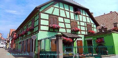 Maison alsace great chtenois un bel exemple de maison for Restaurant la maison rouge colmar