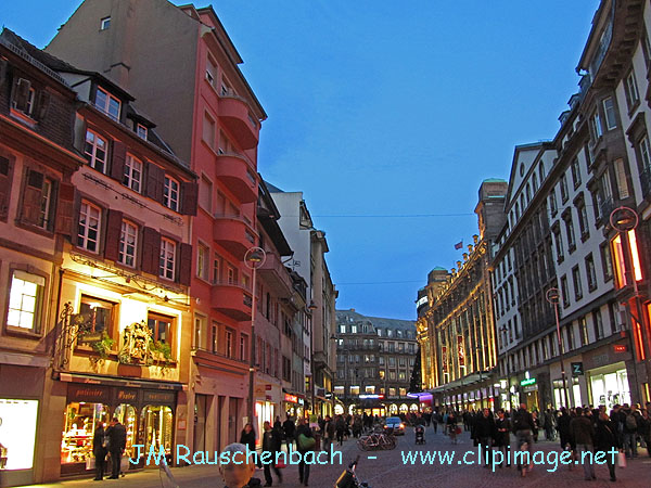 Accueil belles photos de strasbourg rue du 22 novembre for Rue du miroir strasbourg
